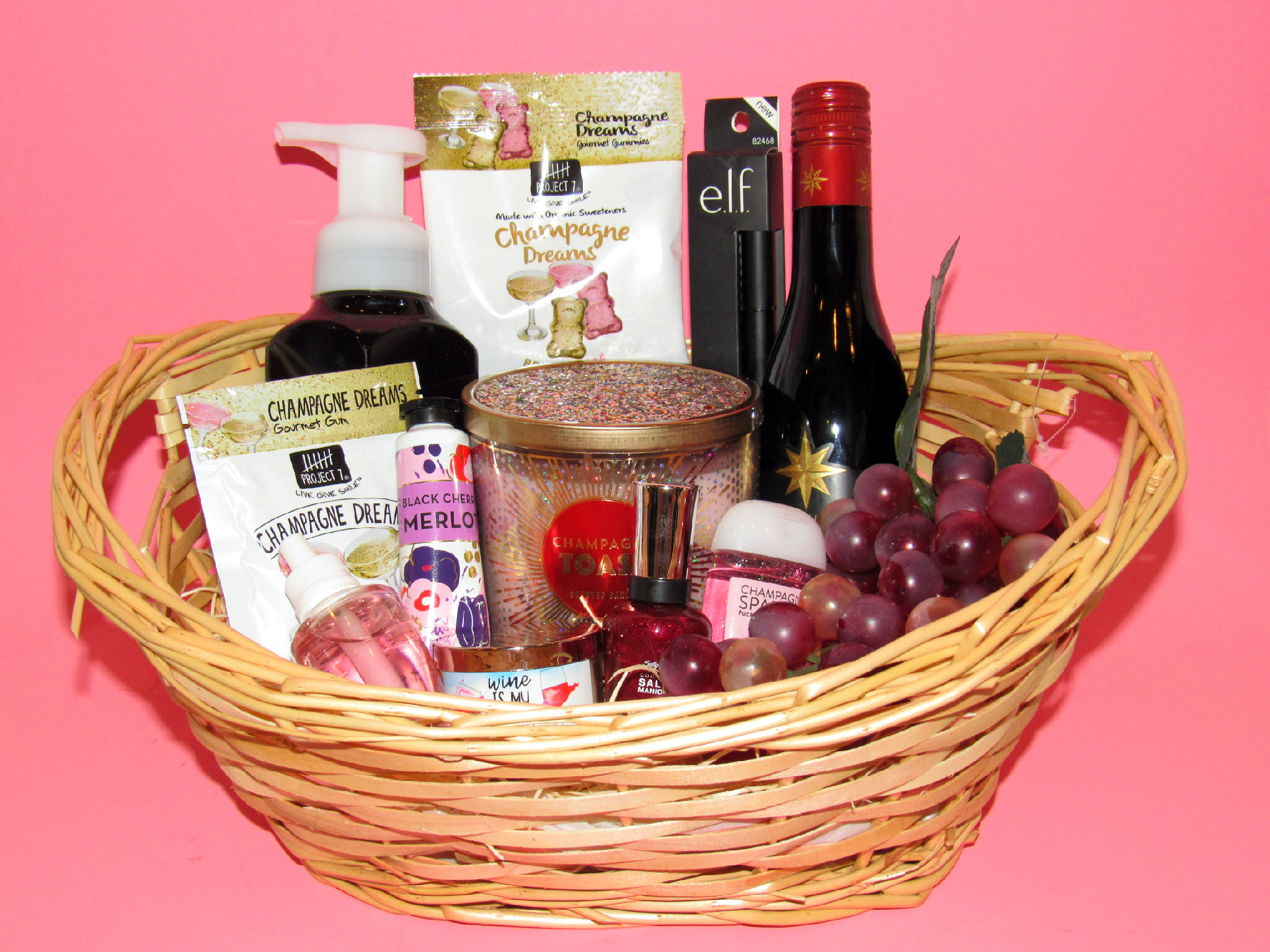Wine Gift Basket Diy Gift Idea For Wine Lovers Eventotb